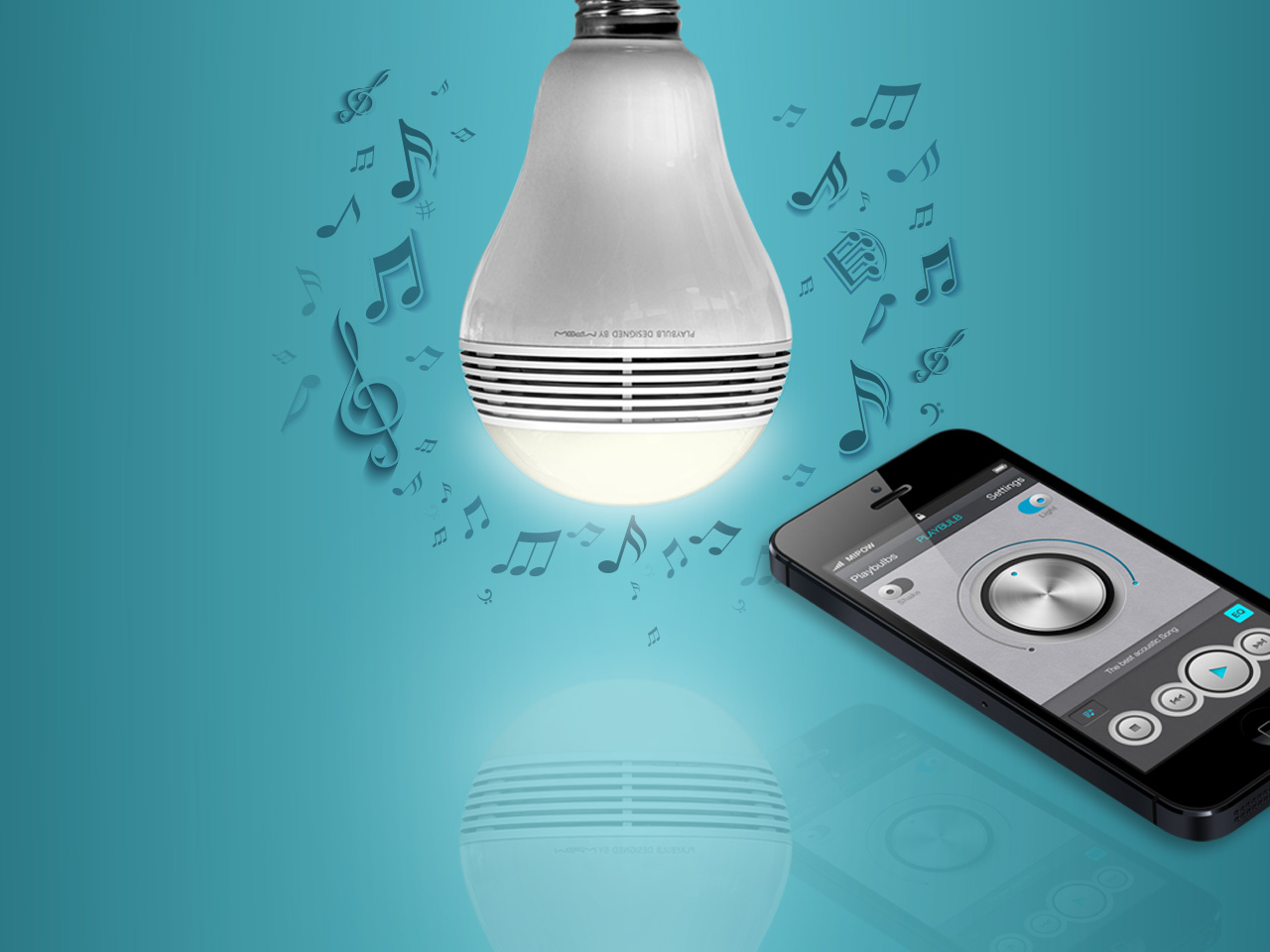 PLAYBULB - Bluetooth Smart LED speaker light